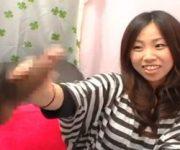 〖赤面手コキ〗「こんなことしてすいません…」なぜか謝まるOLみほさんが手コキ発射させてくれました。